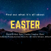 Easter promo poster