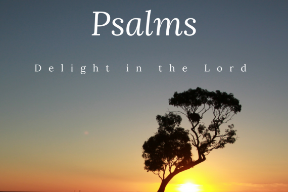 Psalms sermon series poster