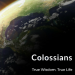 Colossians sermon series promo